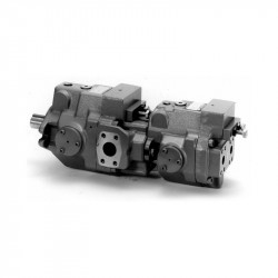 A series - piston pump + piston pump