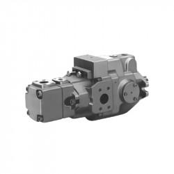 A series - piston pump + vane pump